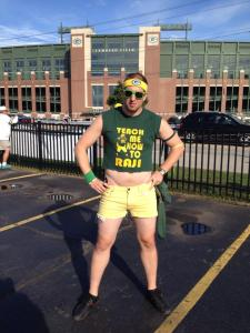 Me at Green Bay