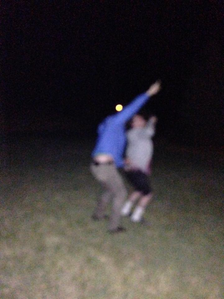 Bill and I looking at the stars