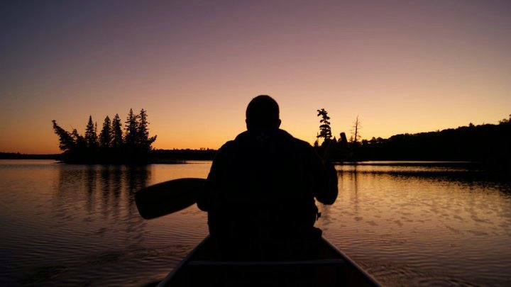 Me in Boundary Waters Canoe
